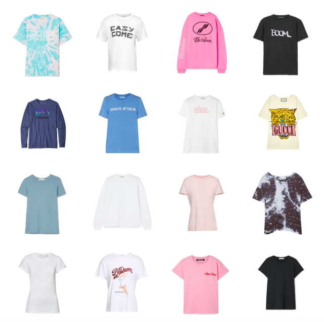 t-shirt addict -