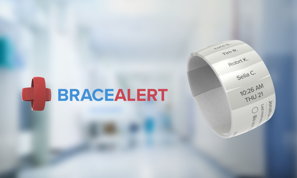 BraceAlert - A wearable e-ink task manager and alert system for nurses that improves doctor-nurse communication