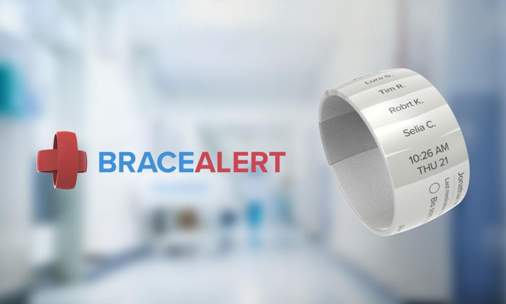 BraceAlert - A wearable e-ink task manager and alert system for nurses that improves doctor-nurse communication
