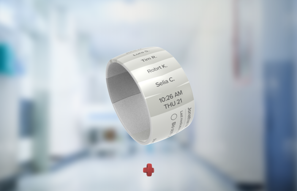 BraceAlert - A wearable e-ink task manager and alert system for nurses that improves communication of doctor orders