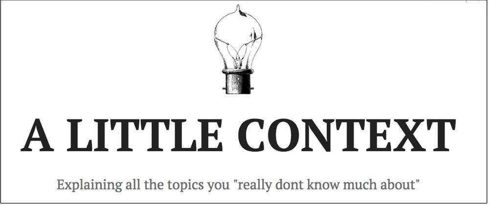 A Little Context Blog