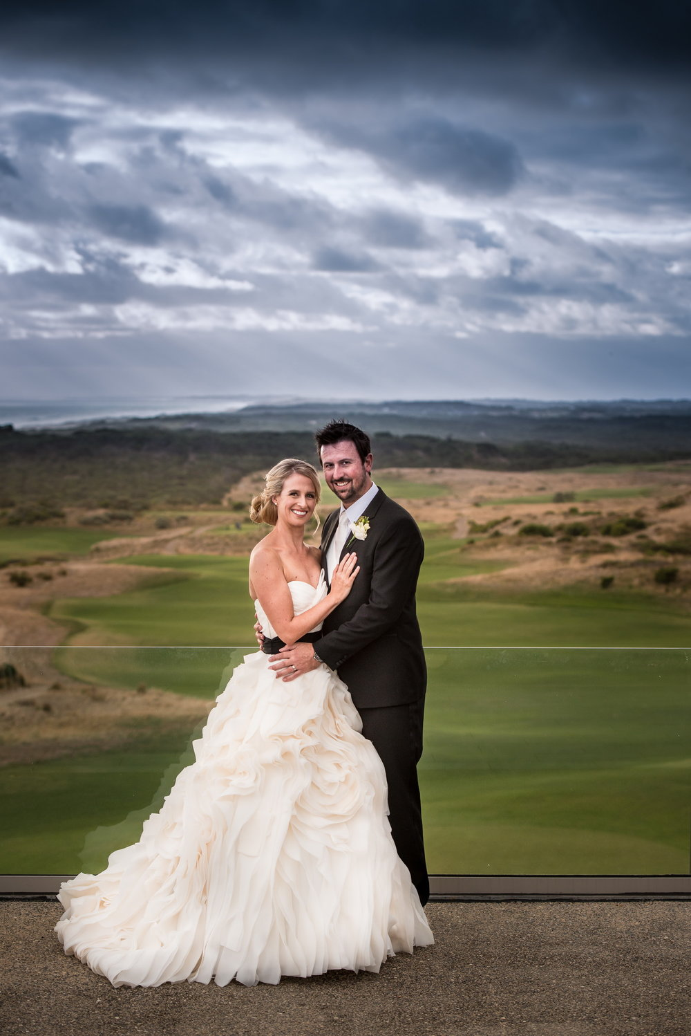 Cape Shanck National Golfcourse wedding
