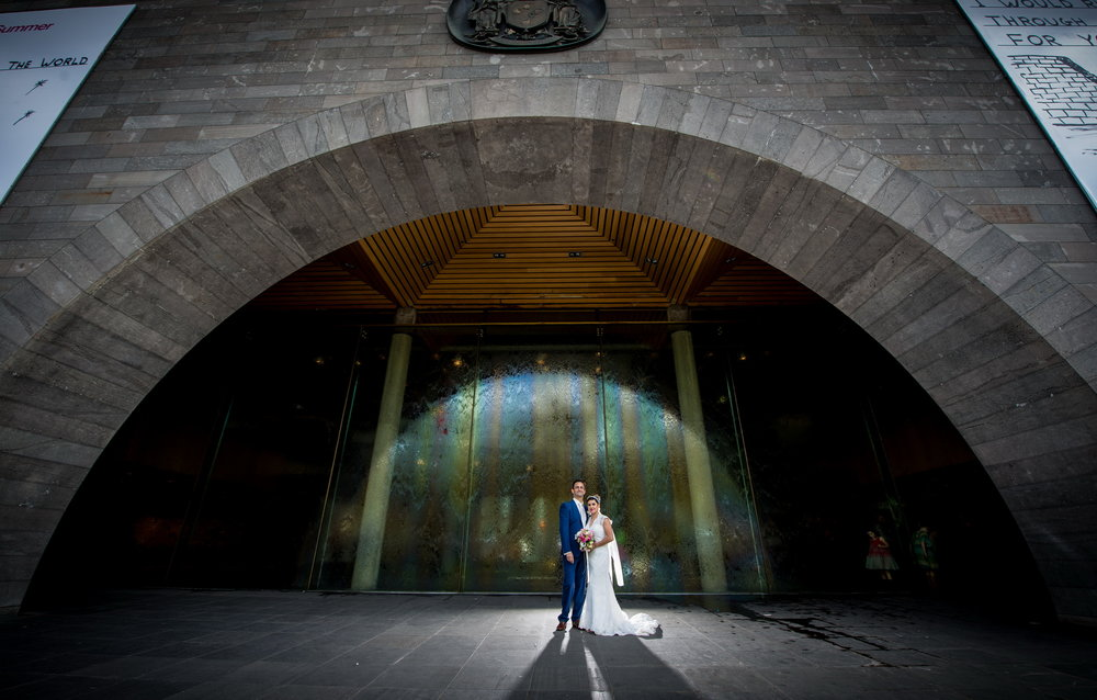 Katie & Steve - Melbourne CBD wedding