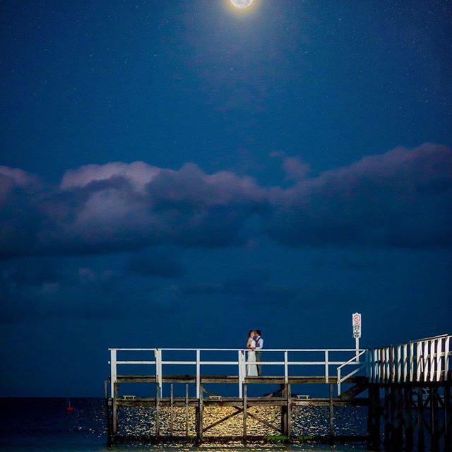 Marta ❤️ Chris - full Moon wedding.