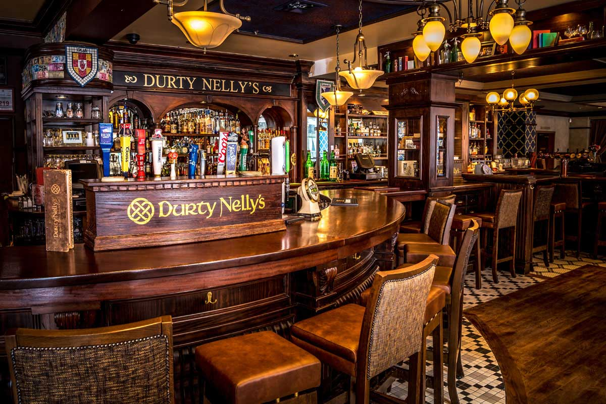 Read a letter  inviting a friend to Durty Nelly's, my Irish pub of choice for an excellent lunch, dinner, or supper.