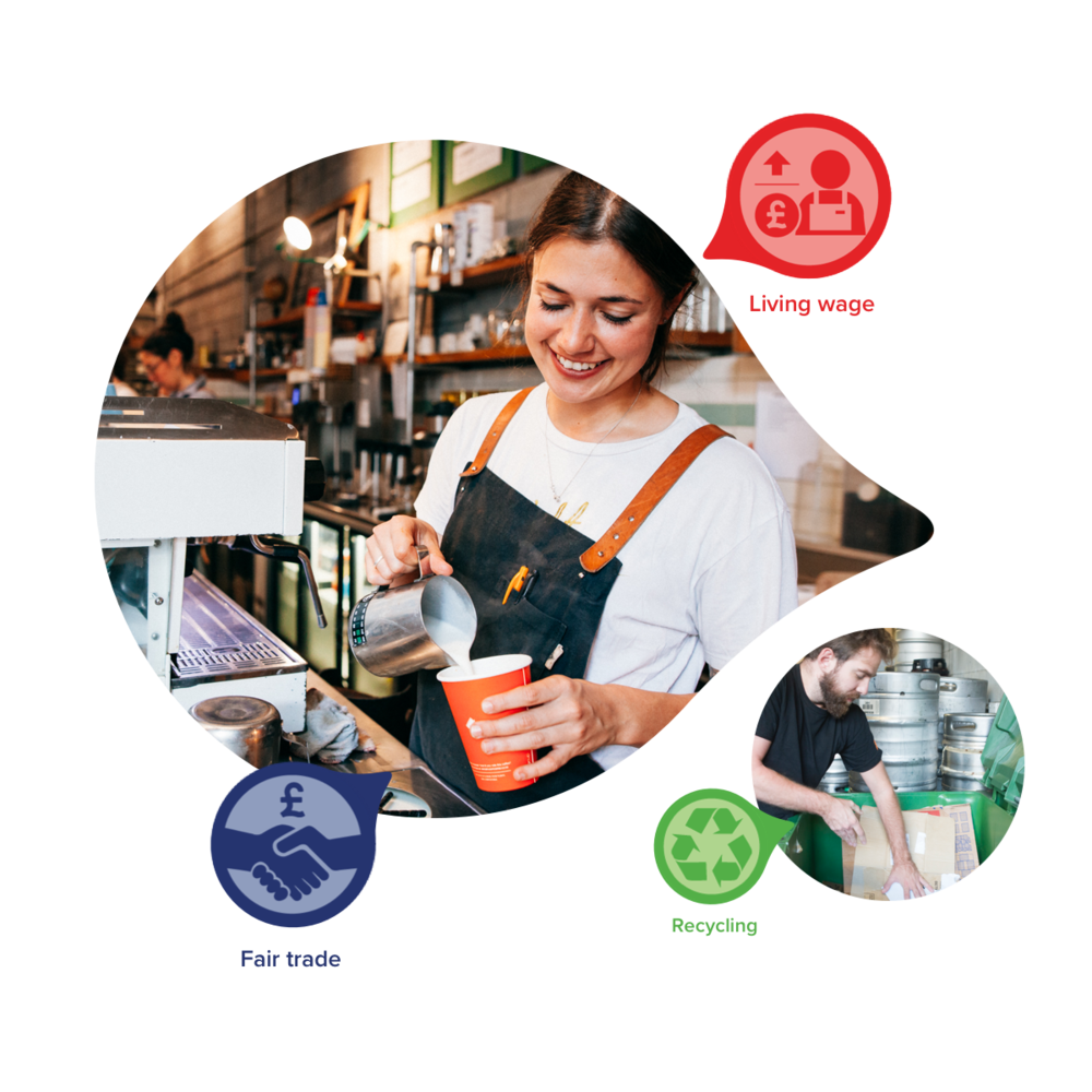 Have your coffee. Change our world. - At last, it's easy to do and find good. Whether in your own neighbourhood or further afield, CoGo is building a community of good so that you'll never need to check your conscience at the door again.