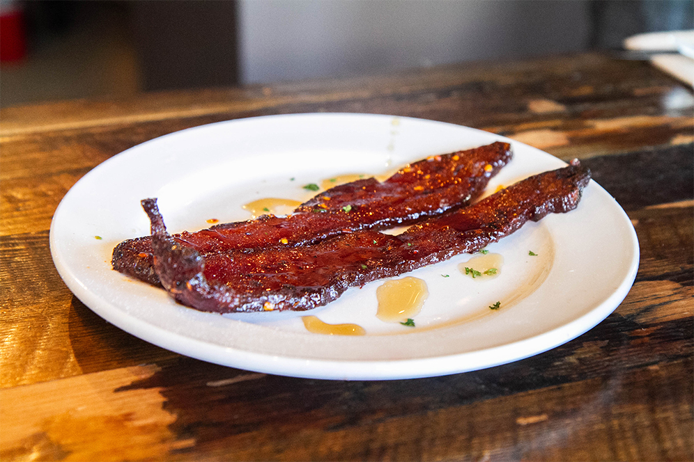 Millionaire's Bacon at Kitchen Story in San Francisco, CA.