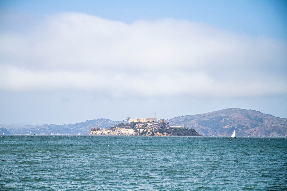 Alcatraz, Fisherman's Wharf, San Francisco, CA