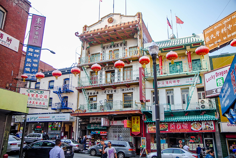 Chinatown in San Francisco, CA