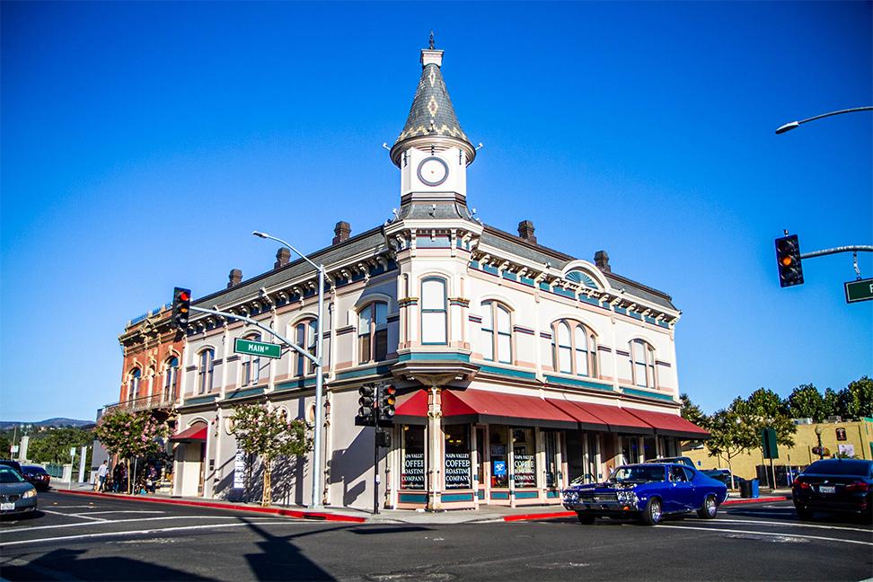 Downtown Napa, CA