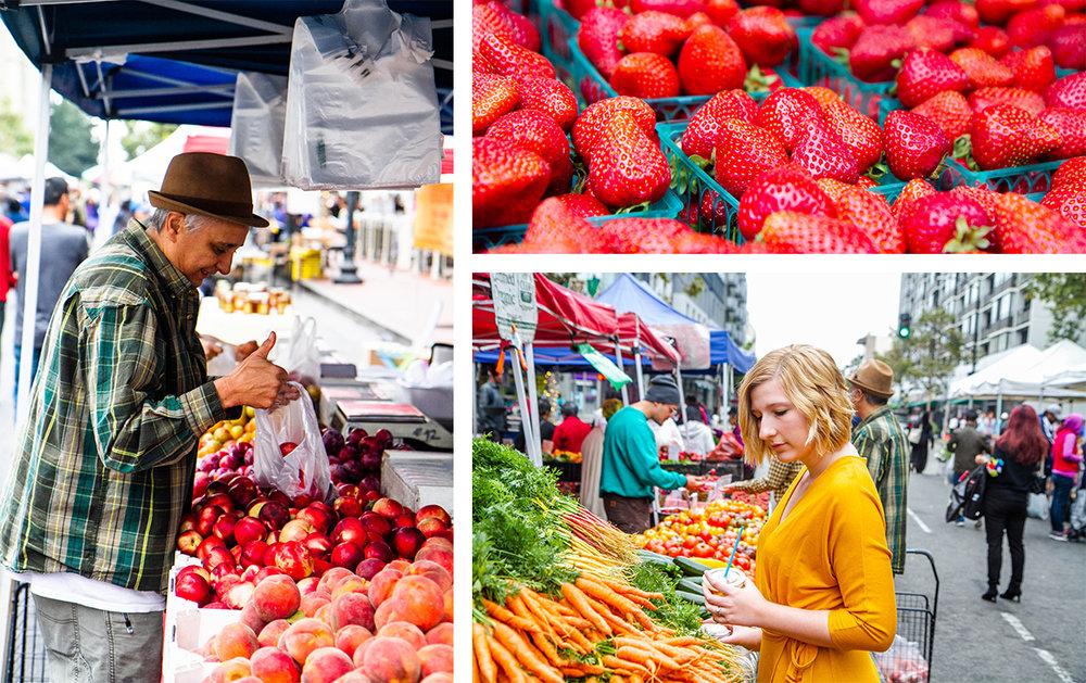Farmer's Market in Oakland, CA