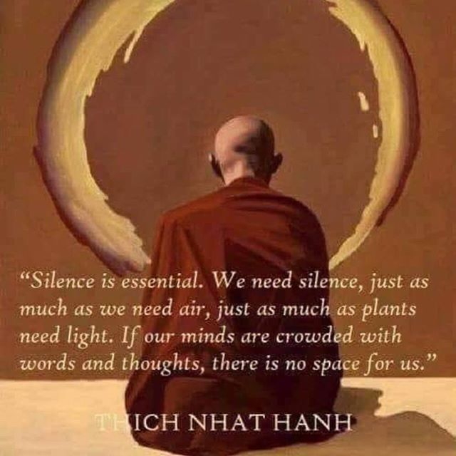 Silence and meditation is the 1/2 punch that continues to facilitate my healing.  It is nurturing, sustaining, available to all and costs nothing.  What I have experienced; lessening of all PTSD symptoms, inner calm, greater focus, resilience and equanimity in challenging times. Worth every minute☺️🙏🏻🧘🏻‍♀️ . . . #student #teacher #mindfulness #meditation #interiorconsciousness #yoga #yogini #mindfullife #mindfulliving #PTSD #anxiety #depression #braintrauma#warrior #traumaticbraininjury #braintrauma #silence #natureheals