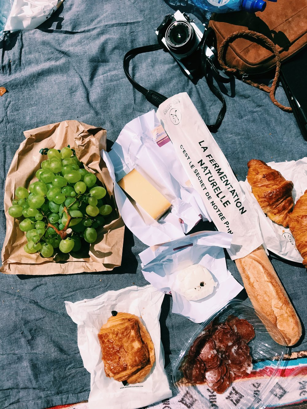 Technically the grapes make this picnic healthy, right?