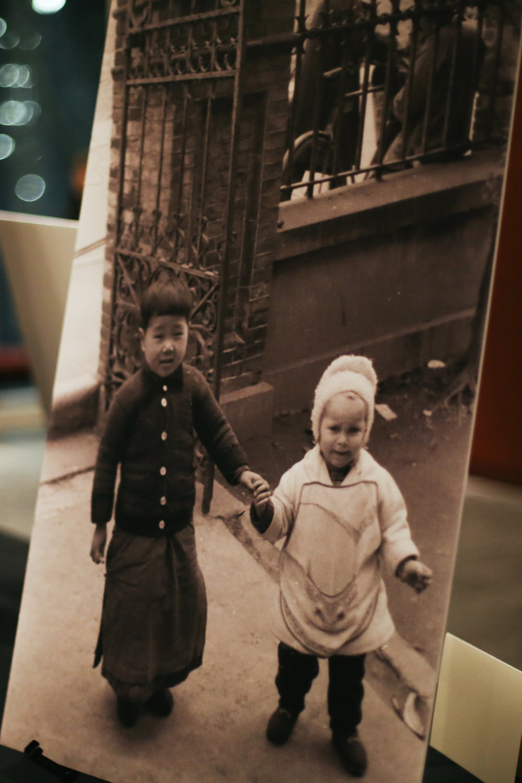 A CLOSER LOOK.  Shots from the Jewish ghetto around World War II era Shanghai.