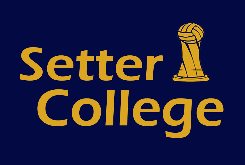 SETTER COLLEGE VOLLEYBALL