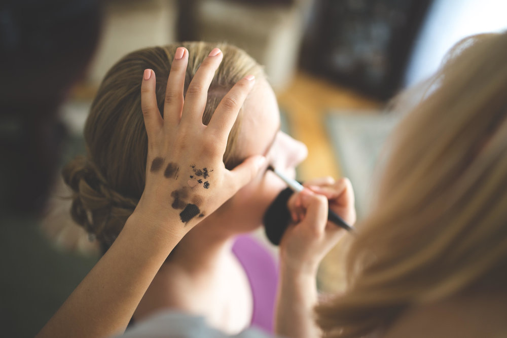 In Home Makeup Lesson