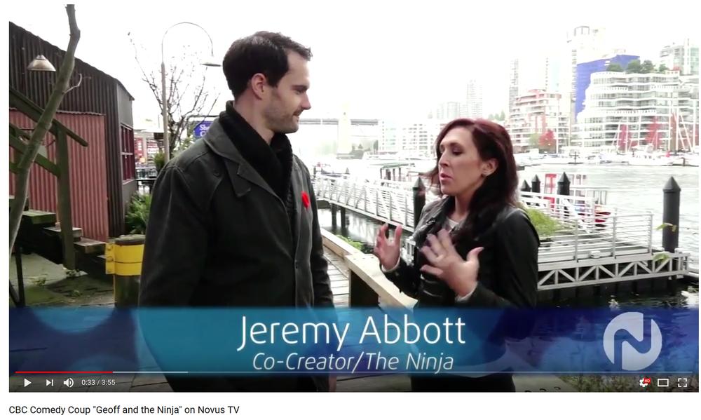 Co-Creator Jeremy Abbott Interview with Novus TV. -