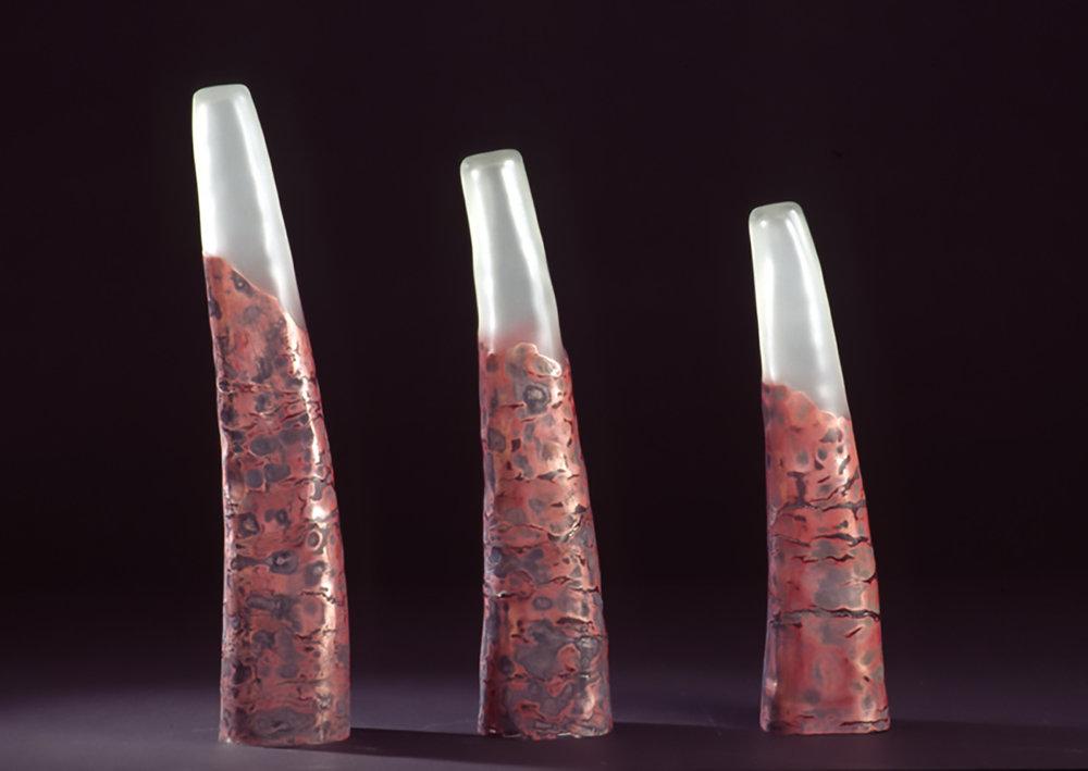 copper triptych