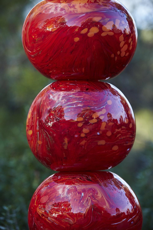 red totem (detail)