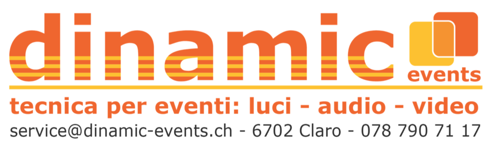 Logo dinamic events
