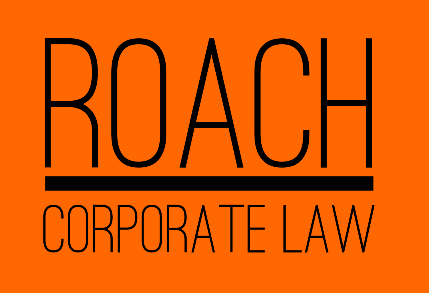 Roach Corporate Law