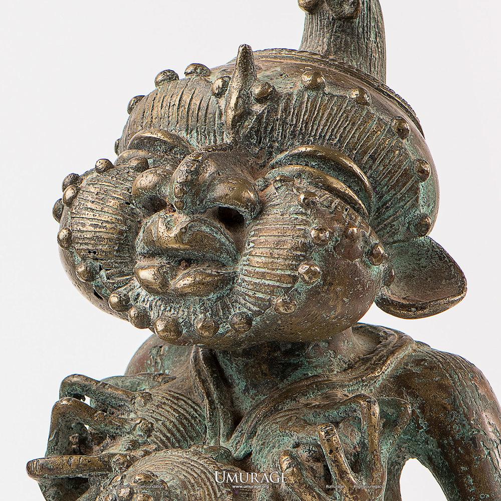Tikar Bronze Statuettes