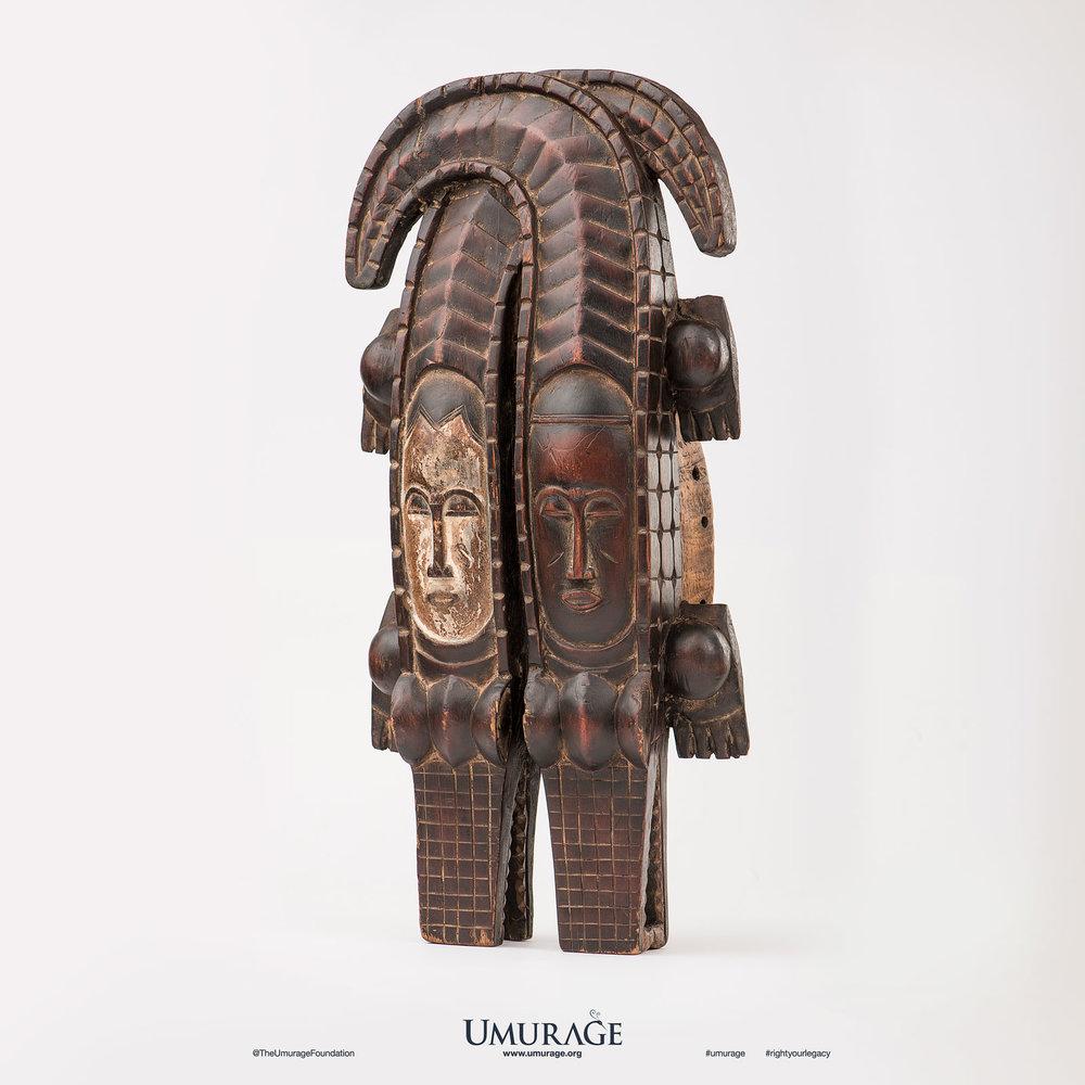 Twin Crocodile Mask
