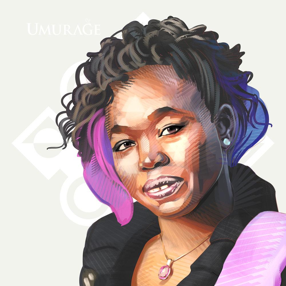 The UMURAGE Foundation Legacy Maker Fatou Diome