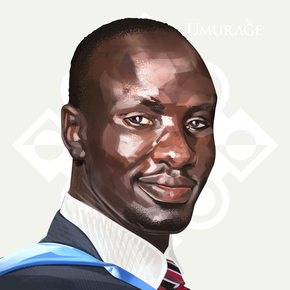 The UMURAGE Foundation Legacy Maker Deng Adut