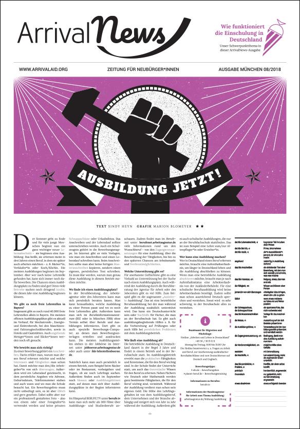 Ausgabe 08/18 München