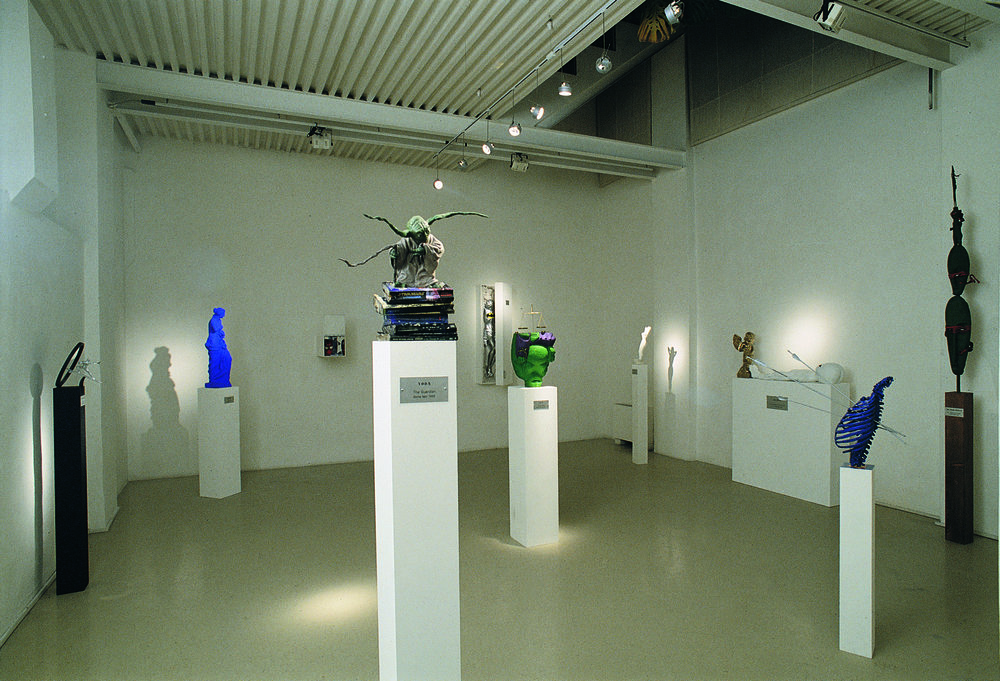 Future imperfect , 1998 . Studio Stefania Miscetti, Rome. Installation view. Photo: Claudio Abate