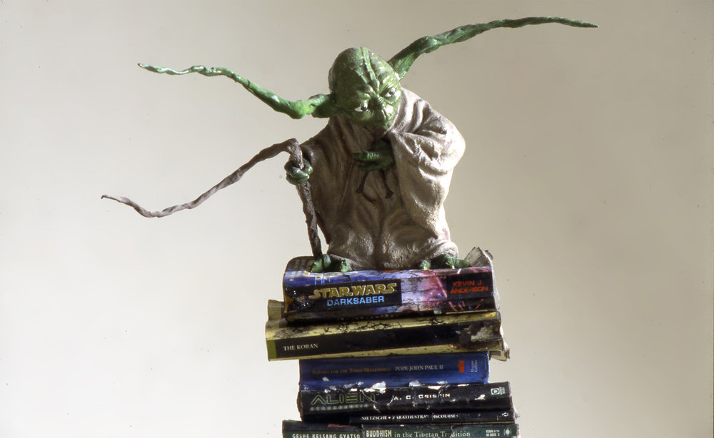 YODA - THE GUARDIAN - ROMA - ITALY , 1998 . Mixed media. Photo: Claudio Abate