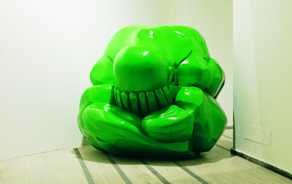 HULK - THE INCREDIBLE , 2001 . Polystyrene and resin, 180x195x200 cm. Photo: Claudio Abate