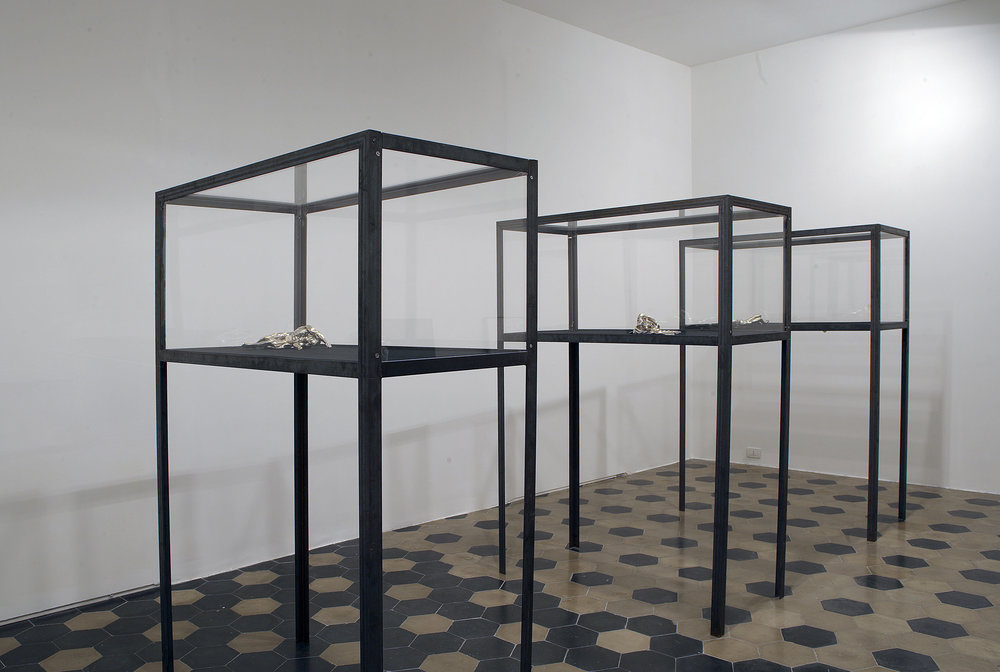 The Age of Chance , 2005 . Mimmo Scognamiglio Artecontemporanea, Naples. Installation view. Photo: Giuseppe Avallone