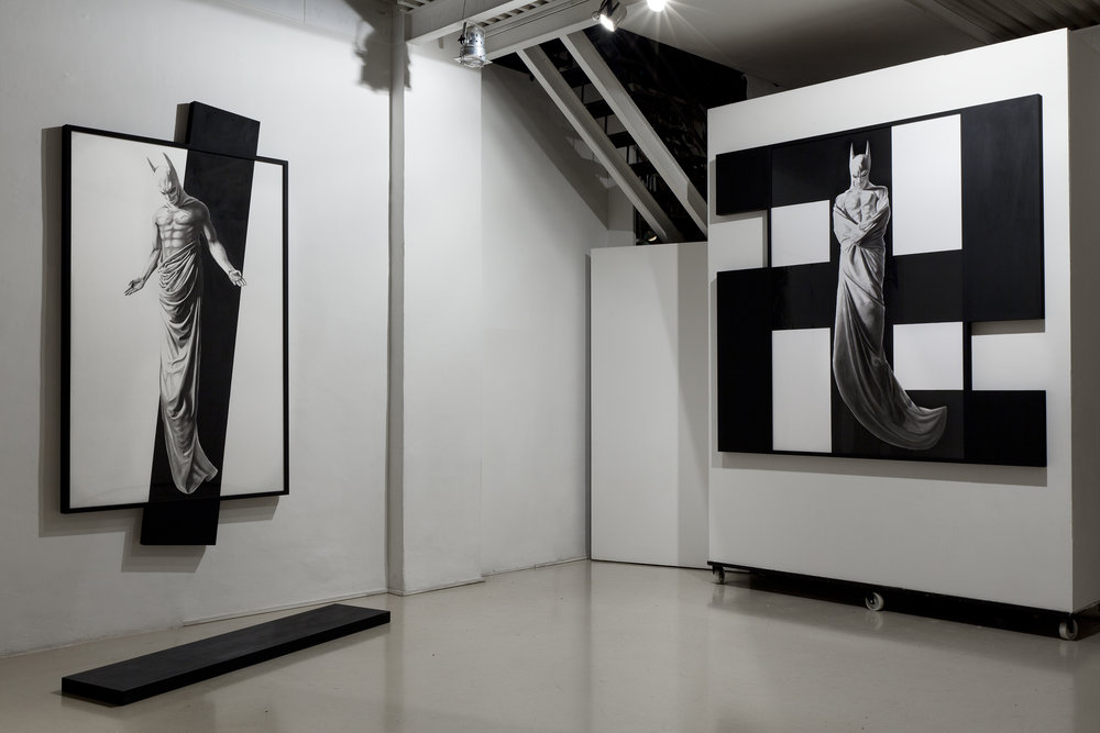 In Excelsis , 2011 . Studio Stefania Miscetti, Rome. Installation view. Photo: Claudio Abate
