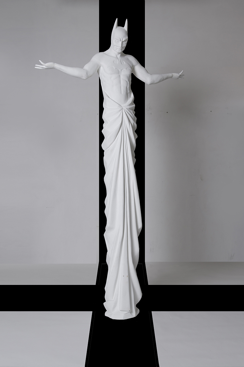 IN EXCELSIS 1 , 2013 . Fiberglass, 300x170x45 cm. Photo: Studio Adrian Tranquilli