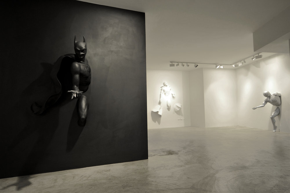 Adrian Tranquilli , 2008 . Louise Alexander Gallery. Installation view. Photo: Frederic Arnal