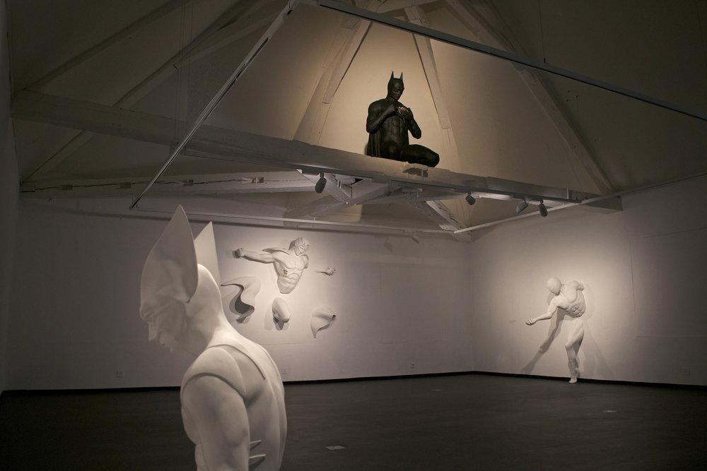 Adrian Tranquilli , 2014 . La Maison d'Ailleurs – Museè de la Science-fiction, de l'Utopie et des Voyages Extraordinaires, Yverdon-les-Bains, Switzerland. Photo: Studio Adrian Tranquilli