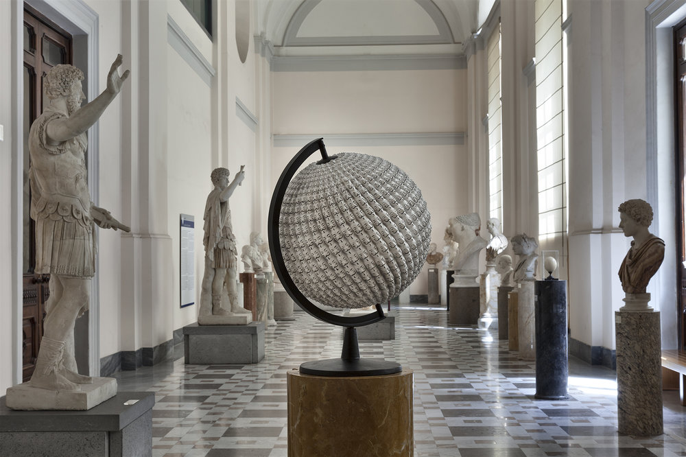 After the West , 2016 . MANN – Museo Archeologico Nazionale di Napoli, Naples 2016. Installation view. Photo: Claudio Abate