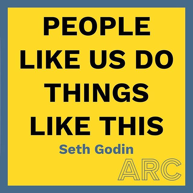 """People like us do things like this"" Seth Godin One of my favourite marketing quotes, I find it really useful to refer back to as a sense check when working on campaign messaging. Let me know if you have any favourites in the comments below 👍"