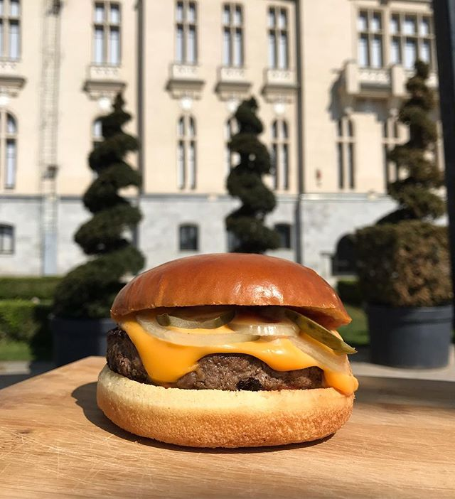 You can't live a full life on an empty stomach😉  Te așteptăm la Frankly să încerci clasicul burger de care nu te mai saturi! #OldSchool 🤩 . . . . .  #FranklyBurgers #meltedcheese 🤤 #cheeselover  #cheddar . . . . #contrast #food #foodporn #burgerporn #cheese #burger #burgertime #delicious #yummy #burgerlover #meltedcheddar #melted #foodphotography #foodpassion #gourmet #gourmetburger #gourmetfood