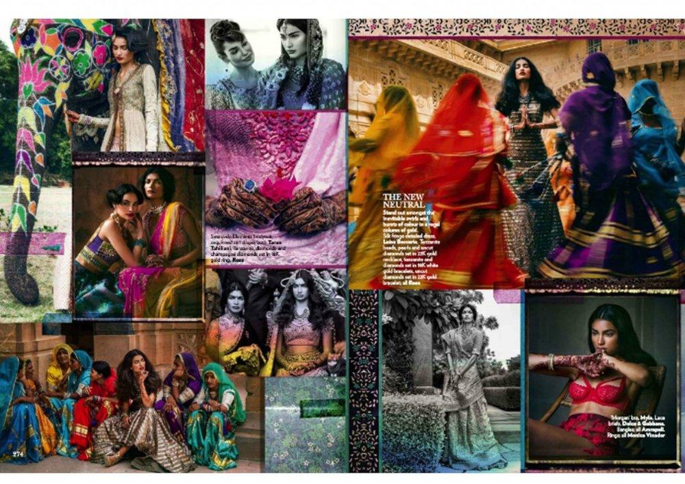 indian wedding vogue