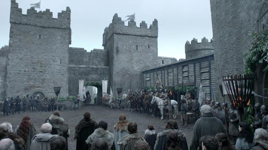 castle ward game of thrones