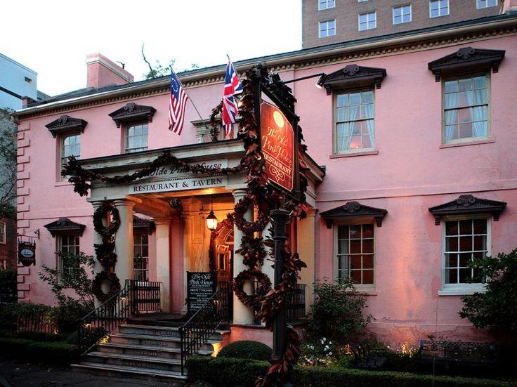 savannah old pink house