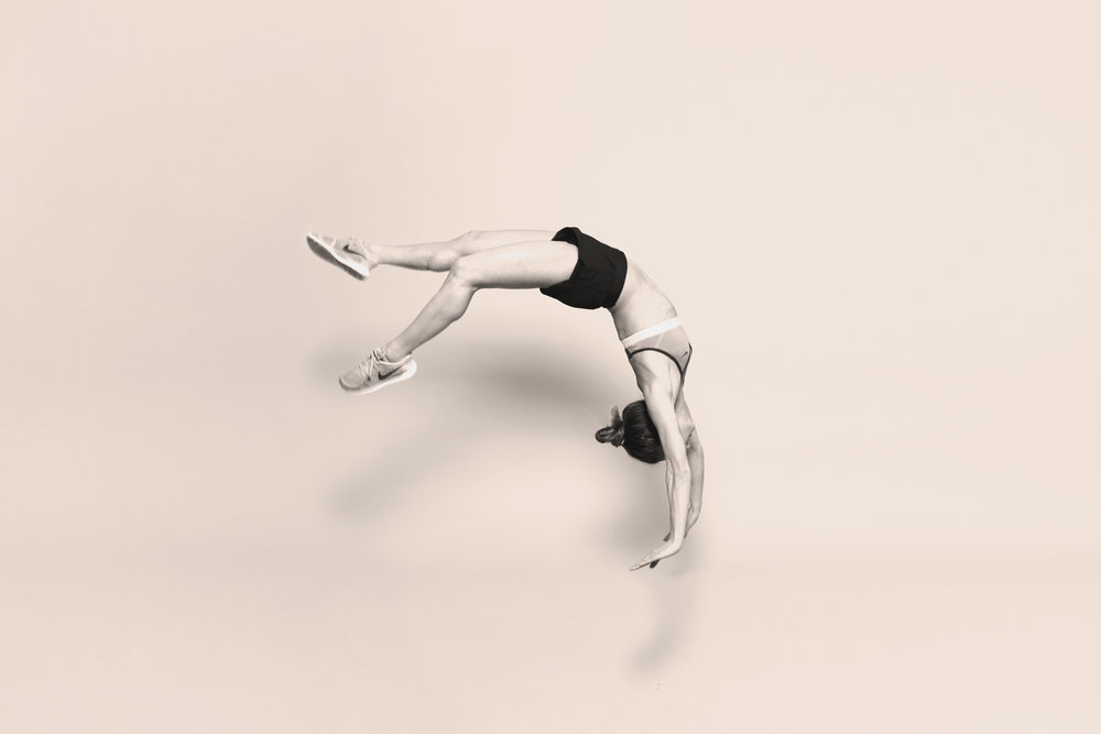 LEarn to flip:£15 - 60min Adult Gymnastics Taster Session