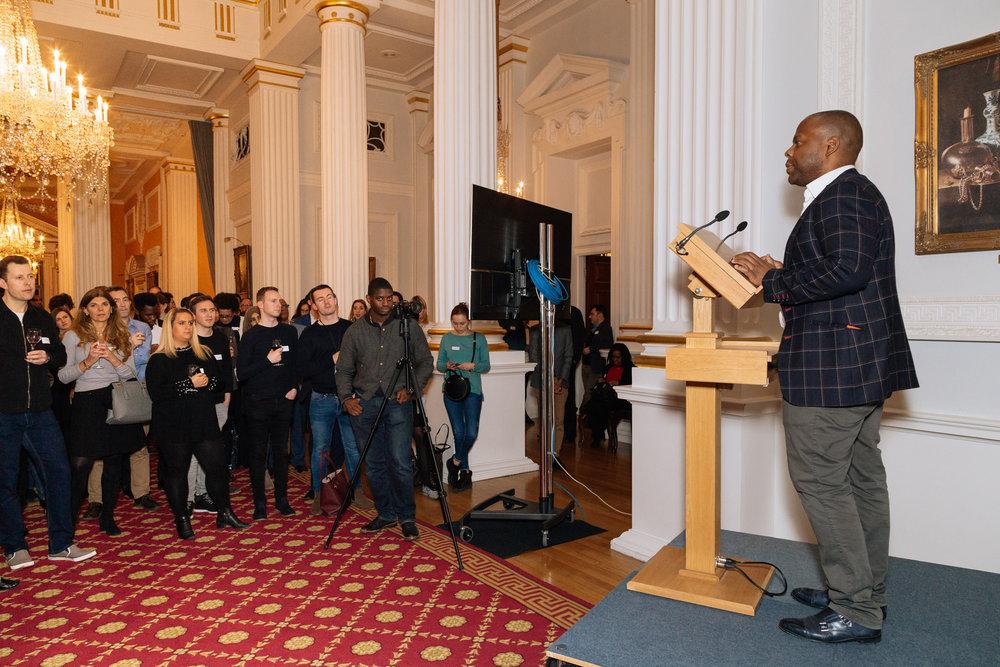 Wayra - Mansion House - Gary talking to audience.jpg