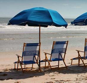 Beach Umbrella And Chair Sand Beach Sand Beach Daksh Ozark Trail