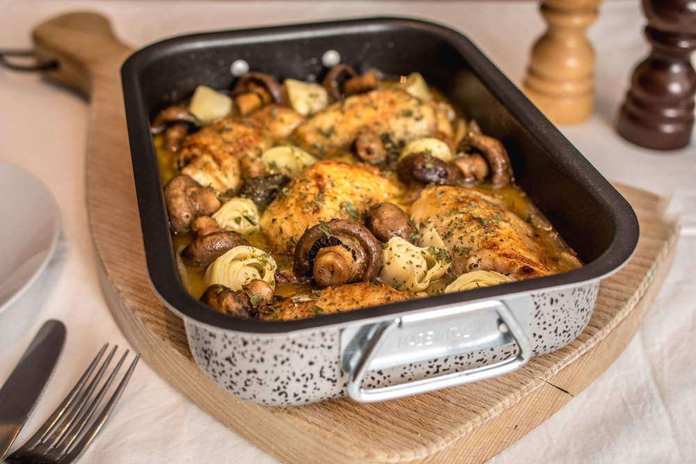 Chardonnay chicken
