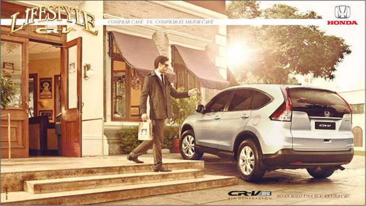 Honda Lifestyle CR-V 2012