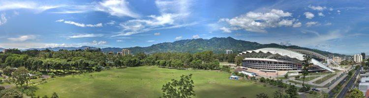 Parque La Sabana. Enorme parque público el el mero centro del San José de Costa Rica.